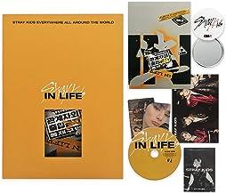 STRAY KIDS 1st Repackage Album - IN生 (IN LIFE) [ B type. ] CD + Photobook + Photocards + Postcard + MINI PHOTOBOOK + OFFIC...
