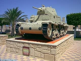 Home Comforts Italiano: Carro armato Italiano M13/40 usato in nordafrica Durante la seconda Guerra mondiale ed ESP Vivid Imagery Laminated Poster Print 24 x 36