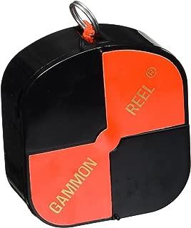 CST/Berger 11-728 12' Hi-Viz Gammon Reel - Black & Orange Target String
