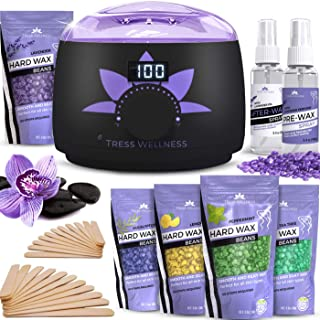 Waxing Kit Wax Warmer -EASY TO USE 2019 Model Digital Display 47 Items