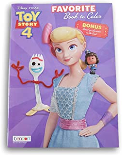 Toy Story 4 Favorite Book to Color - 32 Pages with Bonus Stand-Up Giggle McDimples on The Back