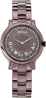 Titan Purple Self Expression Analog Dial Women's Watch-NM95108QM01 / NL95108QM01