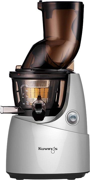 Estrattore di succo, grande bocchino e rotazione lenta kuvings b9700 silver B9700S