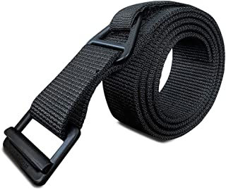 "WOLF TACTICAL Everyday Riggers Belt - Tactical 1.75"" Nylon Web Belt for CQB, Military Training, Holsters, Concealed Carry, Law Enforcement, First Responders"