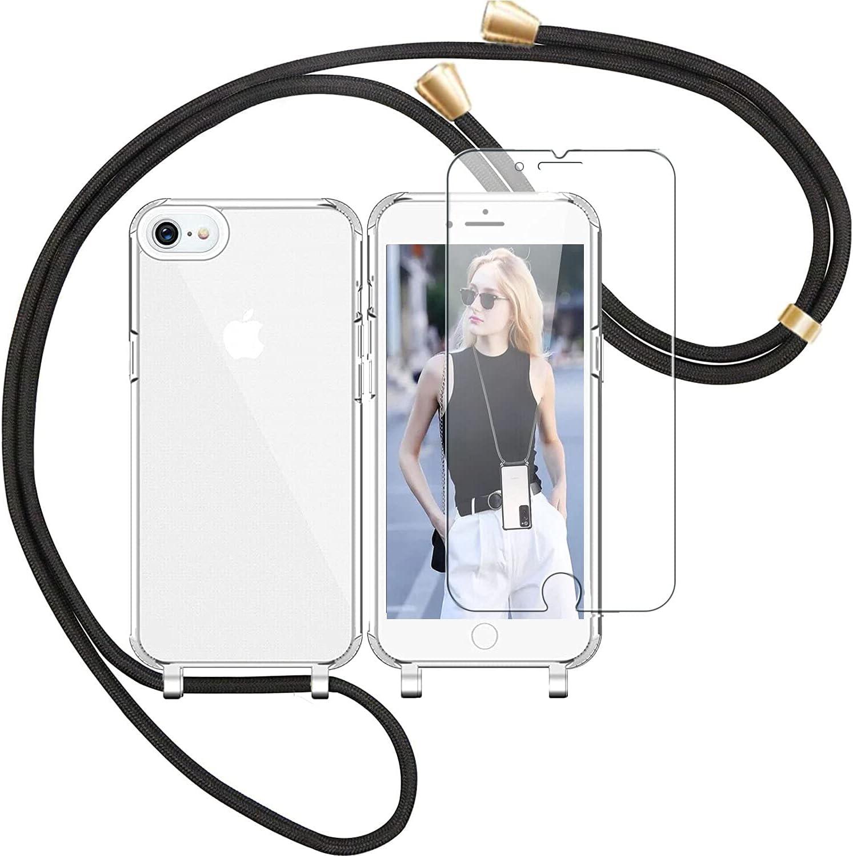 Vauki Funda con Cuerda para iphone SE 2020/7/8 4,7