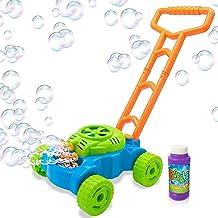 ArtCreativity Bubble Lawn Mower – Electronic Bubble Blower Machine – Fun..