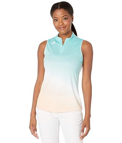 adidas Golf Sleeveless Aeroready Primegreen Polo Shirt