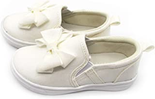 ivory bow shoes