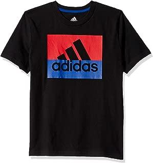 Boys' Big Short Sleeve Cotton Jersey Logo T-Shirt
