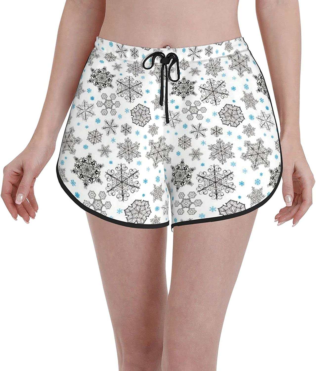 Comfortable Casual Max 73% OFF Board Shorts Sale price for Girls Bl Christmas Women Big