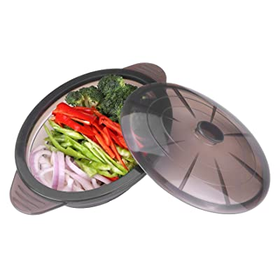 Microwave Steamer Collapsible Bowl-Silicone Ste...