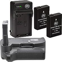 Battery Grip Kit for Nikon D3100 D3200 D3300 D5100 D5200 D5300 Cameras – Includes..