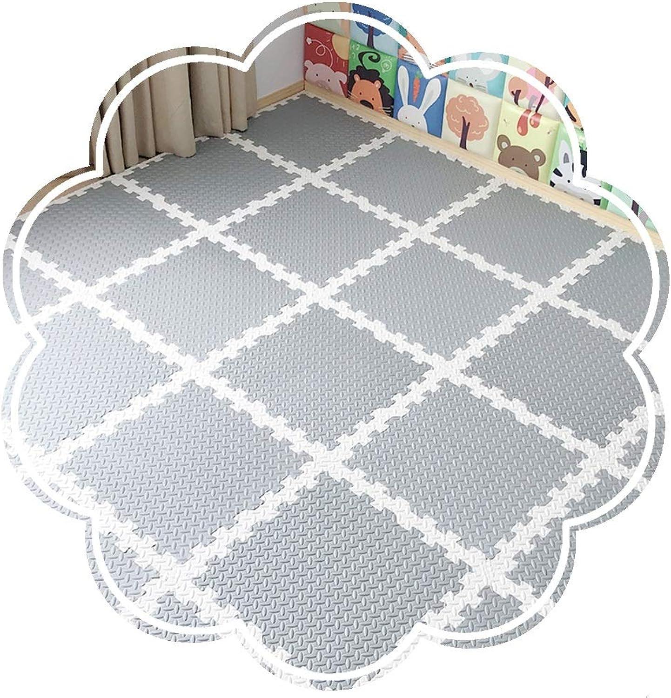 presentando toda la última moda de la calle YANGJUN-alfombra puzzle Bebe Antideslizante Antideslizante Antideslizante Impermeable Costura De Belleza Resistente Al Desgaste Aislamiento Fácil De Limpiar Mezcla De Colors 4 Combinaciones (Color   A, Talla   60x60x1.2cm-6PCS)  tienda en linea