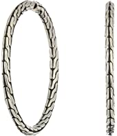 John Hardy - Classic Chain Medium Hoop Earrings