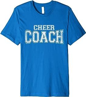 Cheer Coach Cheerleading Coaches Team Tee Premium T-Shirt