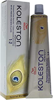Wella Koleston Perfect Permanent Creme Haircolor 12 89 Special Blonde-Pearl Cendre for Unisex, 2 Ounce