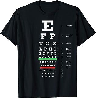 Snellen Eye Chart Test T-Shirt