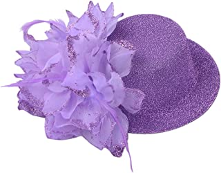 IPOTCH Cute Hairband Hat Ornaments Clip In Comb Fascinators Fashion Head Decoration