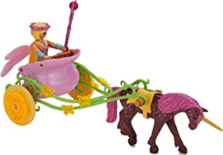 Playmobil Unicorn-Drawn Fairy Carriage Toy, Multicolor