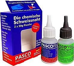 PASCOFIX chemische lasnaad, alleslijm, extra sterke lijm, lasnaad, lijm, secondelijm, extra sterke industriële lijm, 2K li...