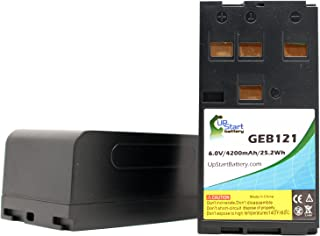 2X Pack - Leica SR530 Battery - Replacement for Leica GEB121 Survey Instrument Battery (4200mAh, 6V, NIMH)