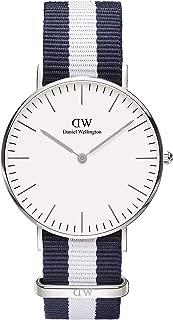 Daniel Wellington 丹尼尔?惠灵顿 瑞典品牌 Classic系列 尼龙表带 石英手表 女士腕表