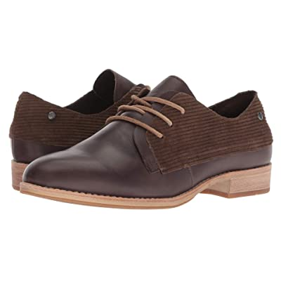 Caterpillar Casual Tally (Dark Brown Leather/WPL) Women