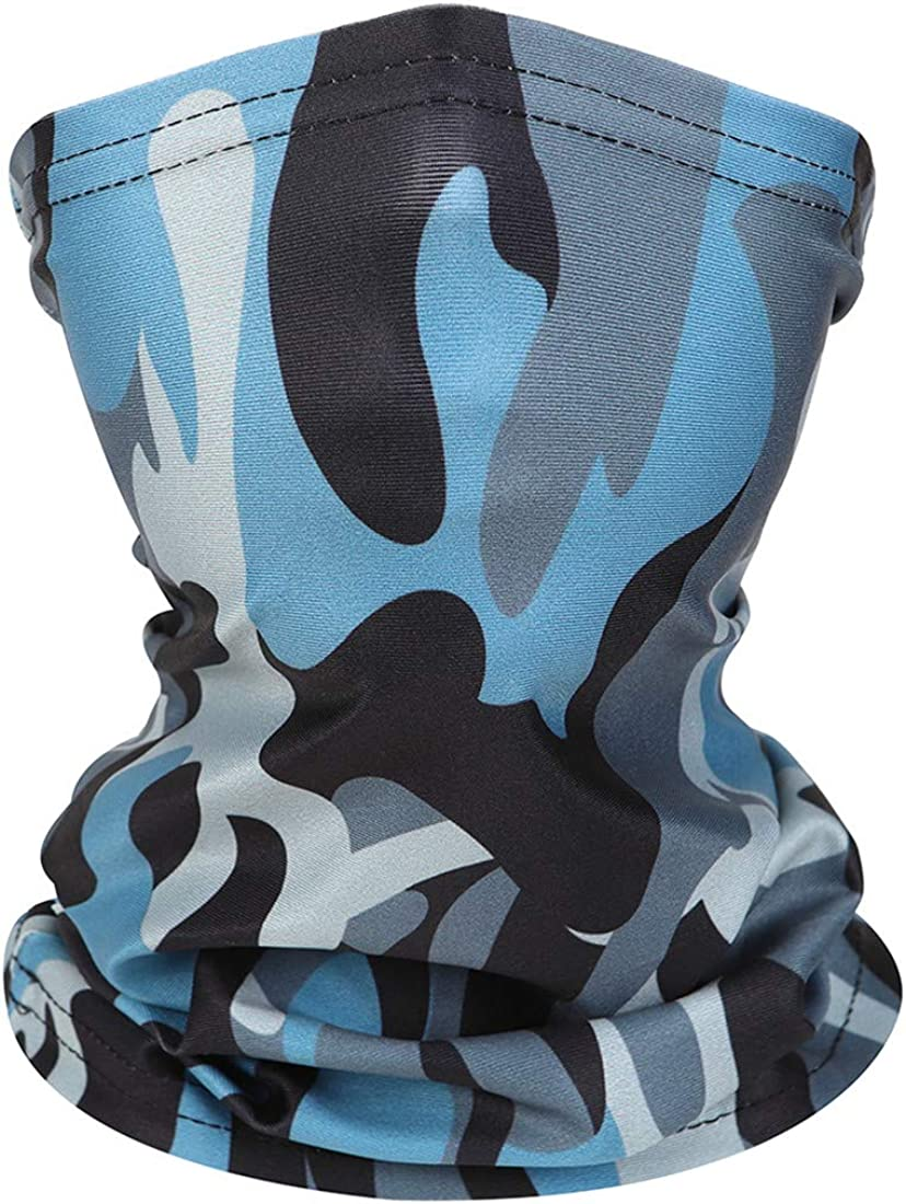 Kids Neck Gaiters Face Covering for Children Scarf 4pcs