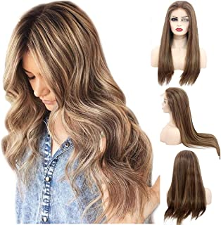 Best strawberry blonde human hair wigs Reviews