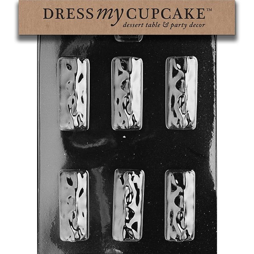 Dress My Cupcake DMCAO025SET Chocolate Candy Mold, Candy Bar, Set of 6