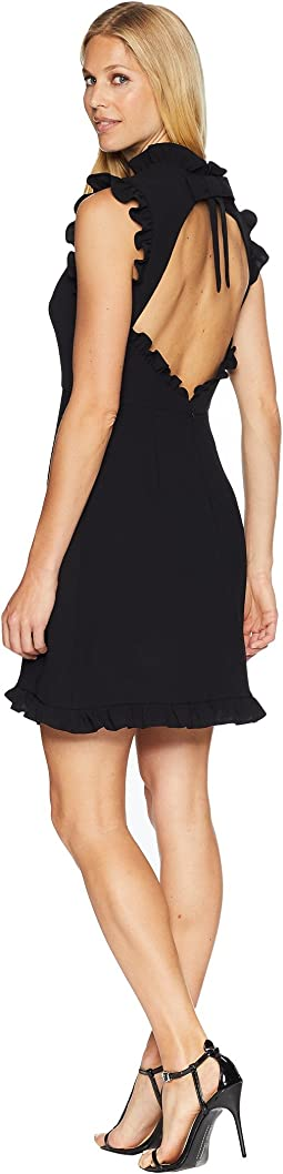 JILL JILL STUART Little Black Dress with Open Back