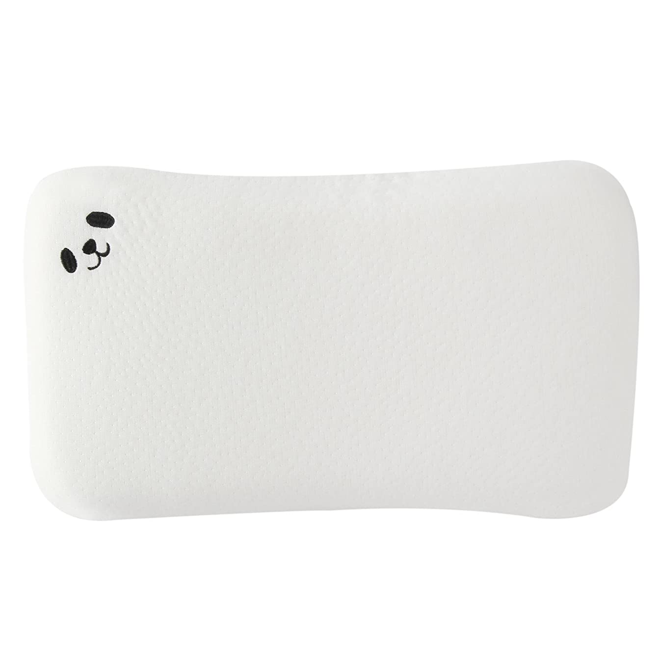 Baby Pillow Memory Foam - Protection for Flat Head Syndrome Breathable Newborn Anti Roll Pillows