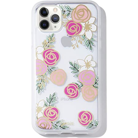 Sonix Gatsby Rose (Flowers) Case for iPhone 11Pro [10ft Drop Tested] Protective Clear Series for Apple iPhone 11 Pro
