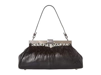 Patricia Nash Ferrara Frame (Black) Handbags