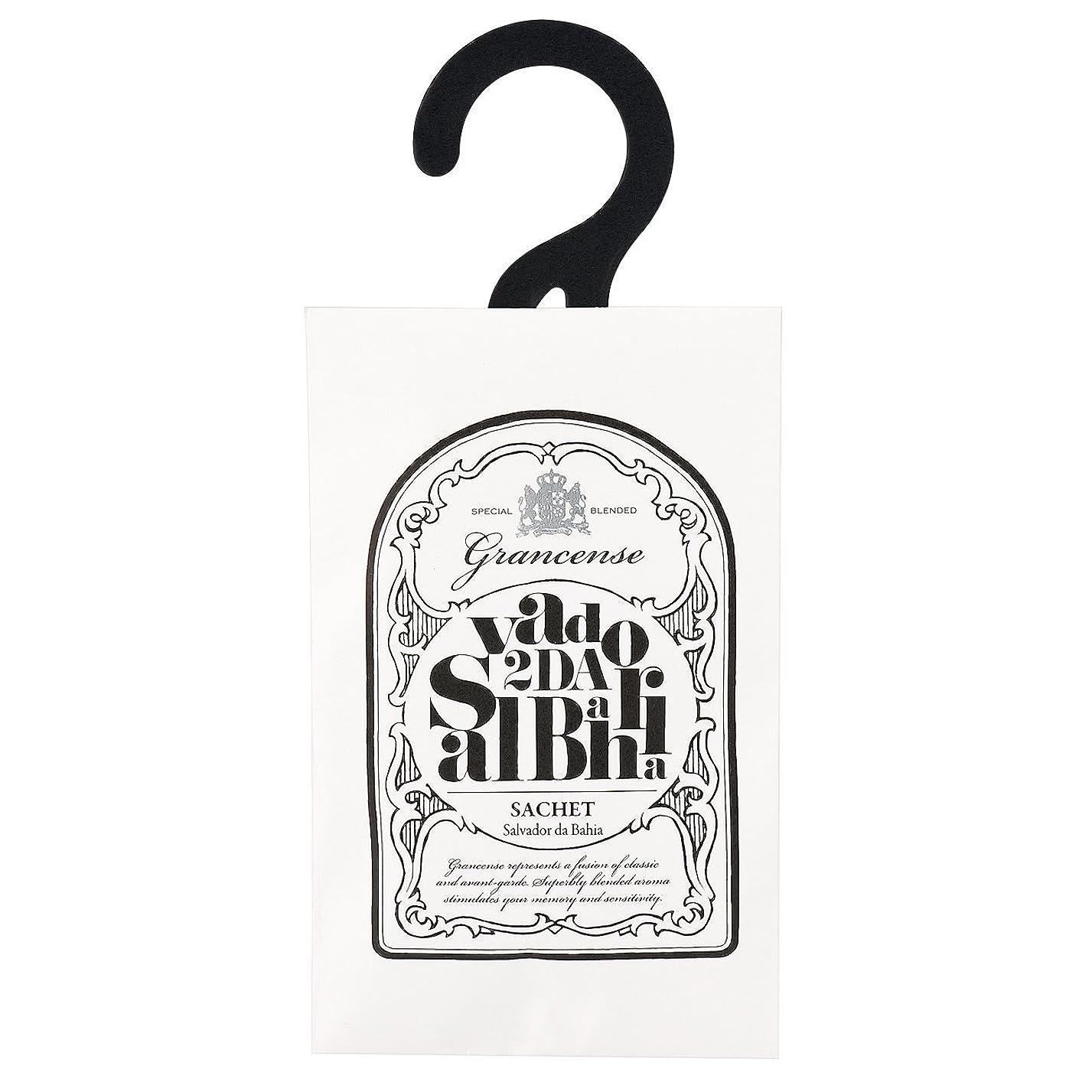 シャイニング適用済み死の顎グランセンス サシェ(約2~4週間) サルバドール 12g(芳香剤 香り袋 アロマサシェ ライムとミントの爽やかさにバニラの甘さを感じる南国のような香り)