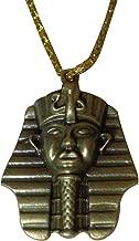 BonBalloon Egyptian King TUT Sphinx Pyramids Necklace Pendant Pharaoh Egypt Jewelry Ancient Egypt Egyptian Pharaoh's Costume Jewelry Accessory 102 (Model 2)