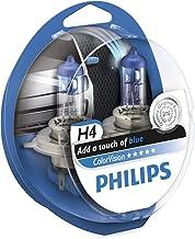 Philips ColorVision Bombilla para faros delanteros azul 12342CVPBS2 - bombilla para coches (55W, H4, Fog light, High beam, Luz interior, Low beam, Parking light, Signaling, Stop light)