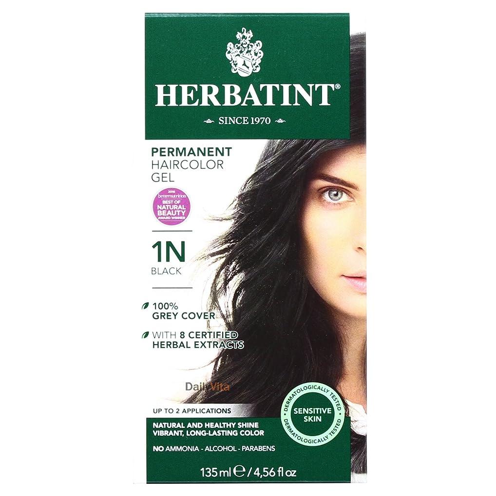 ひばり溶接熱意Herbatint 時間色1Nブラック