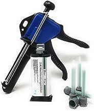 Ber-Fix® 50g 2K krachtige lijm 3 minuten voor metaal en kunststof verlijming met doseerpistool en 10 punten