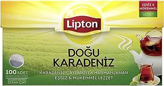 Lipton Doğu Karadeniz Siyah Demlik Poşet Çay, 100'lü