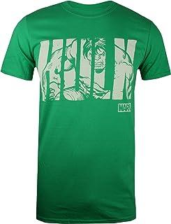 Marvel Hulk Text Camiseta para Hombre