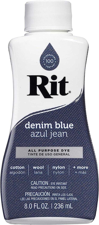 Columbus Topics on TV Mall Rit All-Purpose Liquid Dye Denim Blue