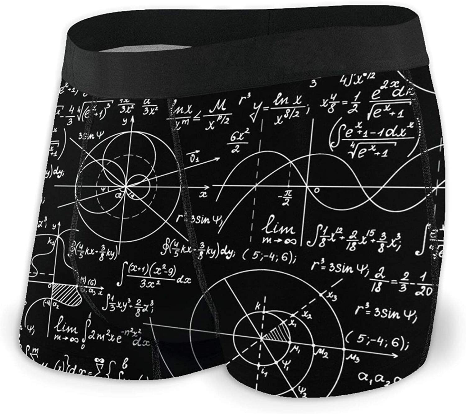 TZT Math Complete Free Shipping Vector Endless Texture Men's Co OFFicial store Briefs Boxer Breathable
