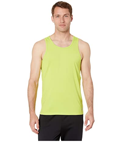 ASICS Run Singlet (Neon Lime) Men