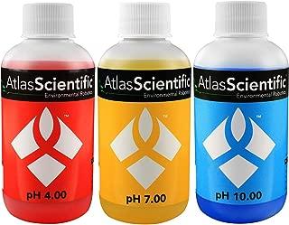 Atlas Scientific pH 4.00, 7.00, 10.00 Calibration Solution 125ml - 4oz (Pack of 3)