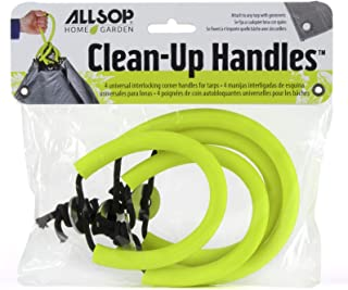 Allsop Clean-Up Tarp Handles - Interlocking System with 4 Handles per Pack