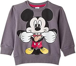 Disney Sweat Lycra Print Sweatshirt for Boys - Dark