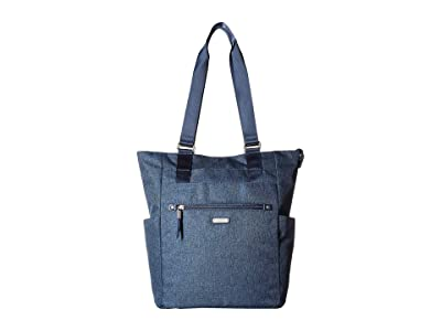 Baggallini New Classic Make Way Tote with RFID Wristlet (Steel Blue) Handbags