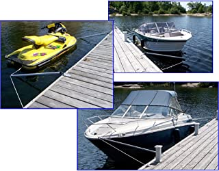 Dock Edge Mooring Whips & Arms