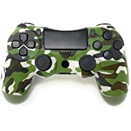 PS4 Controller Doubleshock 4... PS4 Controller Doubleshock 4 Wireless Controller for Playstation 4 –Green Camouflage